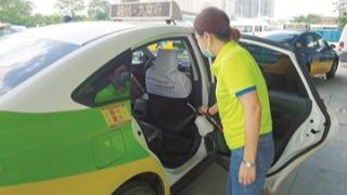 全市已累计消毒2450辆出租车