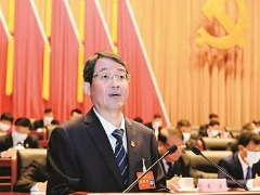 中共柳州市第十三次代表大会开幕