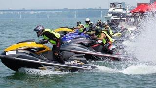 水上摩托公开赛开赛